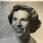 Peg Hart '49 Yearbook Photo
