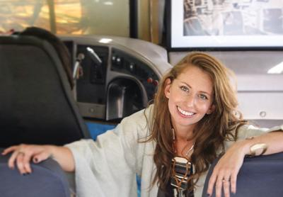 Lucia Davis is founder of Art Bus Project which will travel the Eastern Seaboard in 2017