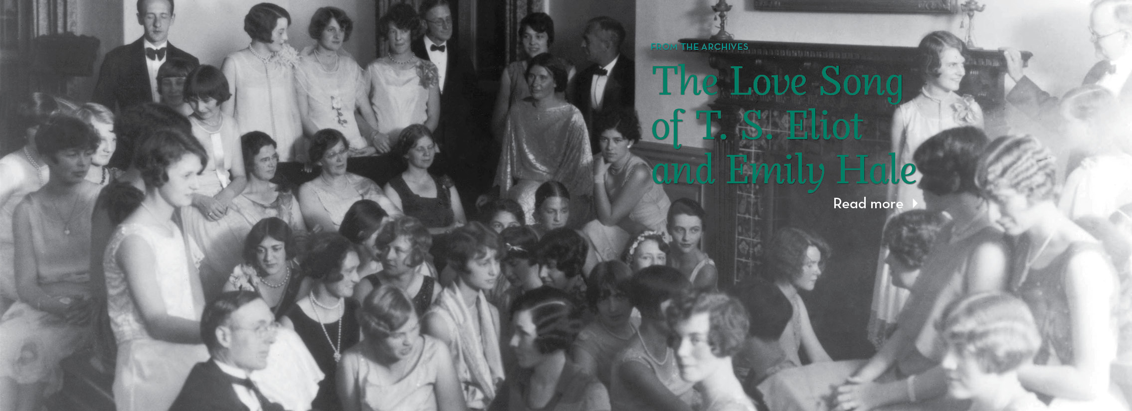 From the Archives: The Love Song of T.S. Eliot and Emily Hale