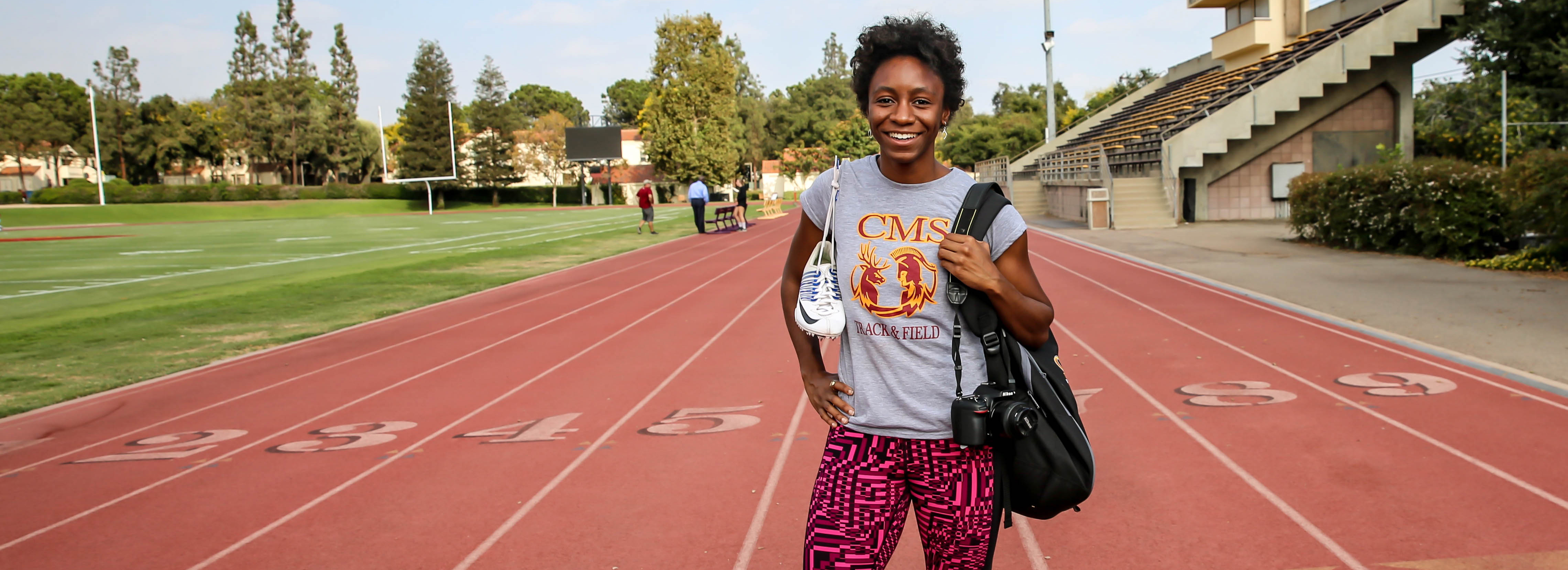 Spotlight on Students: Tyra Abraham '18, Scripps Senior Is Running with Her Passion for Storytelling