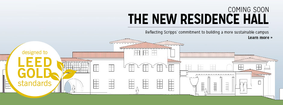NEW Hall: Reflecting Scripps' commitment to building a more sustainable campus.