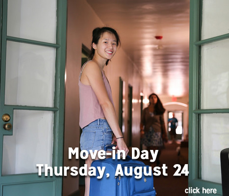 Move in Day/NSO Schedule