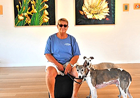 Scripps College alum Dovey Dee '83 Displays Landscape Paintings at dA Gallery in Pomona