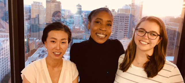 Spotlight on Alumnae: Vivianne Mbaku '09 Strives to End Homelessness (with a Little Help from Her Friends)
