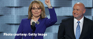 Scripps alum Gabby Giffords speaks at Democratic National Convention