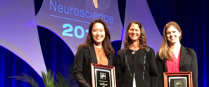 Kate Fehlhaber '09 Honored by Society for Neuroscience