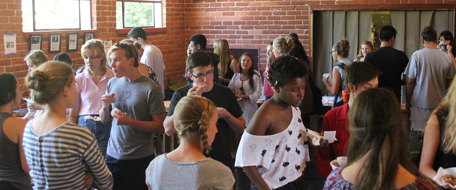 The Scripps Experience: The Motley Coffeehouse Student Bake Off