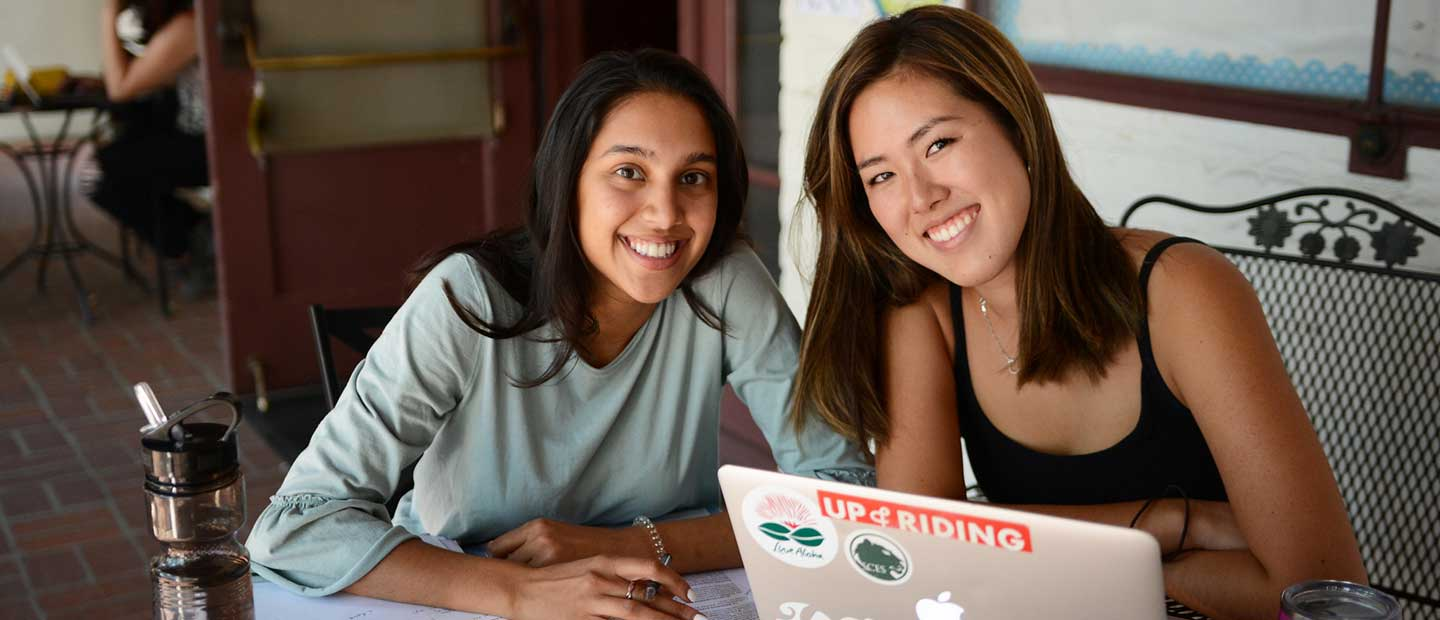 two students