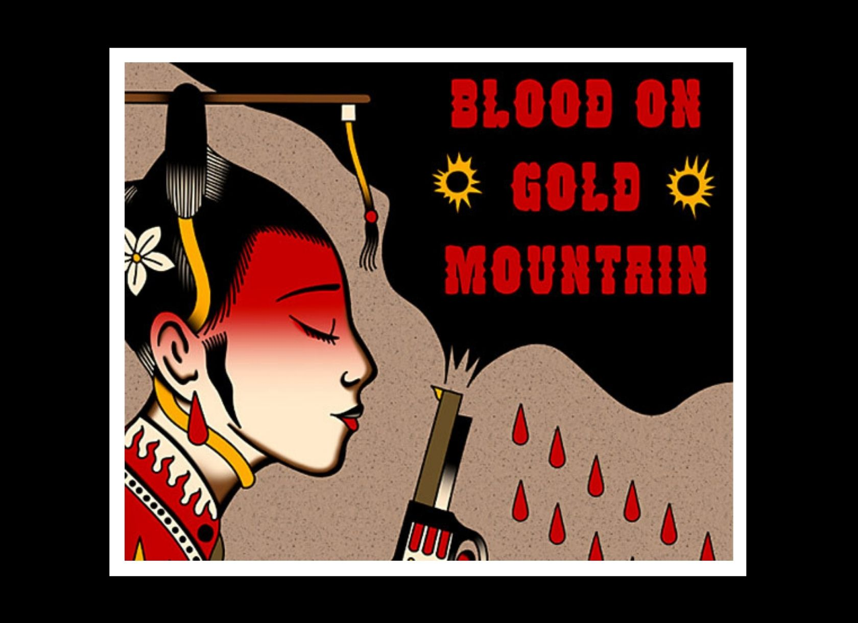Blood on Gold Mountain podcast logo